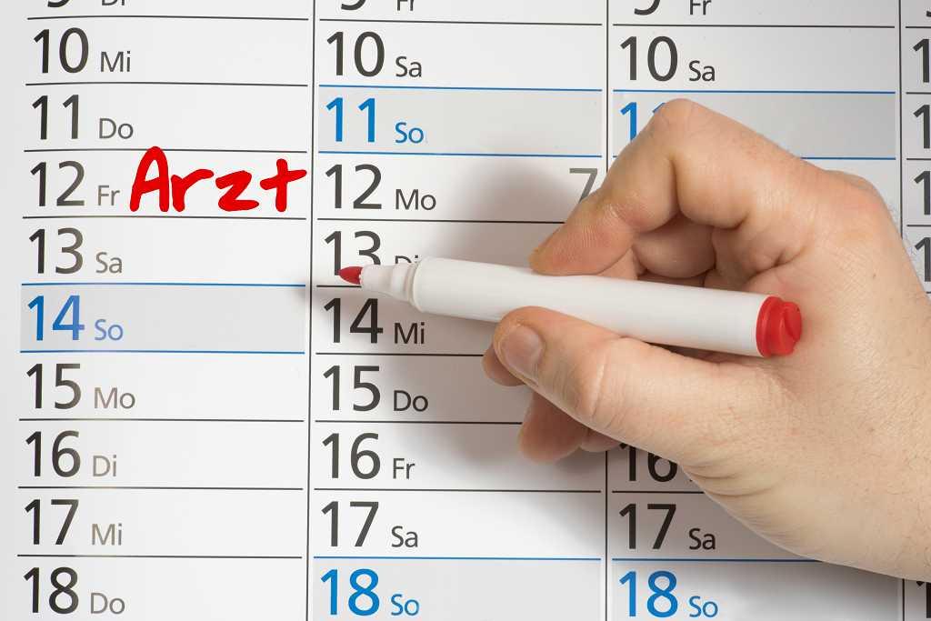 Termin in der Hausarztpraxis und Praxis für Arbeitsmedizin Freitag-Hardt in Weilburg