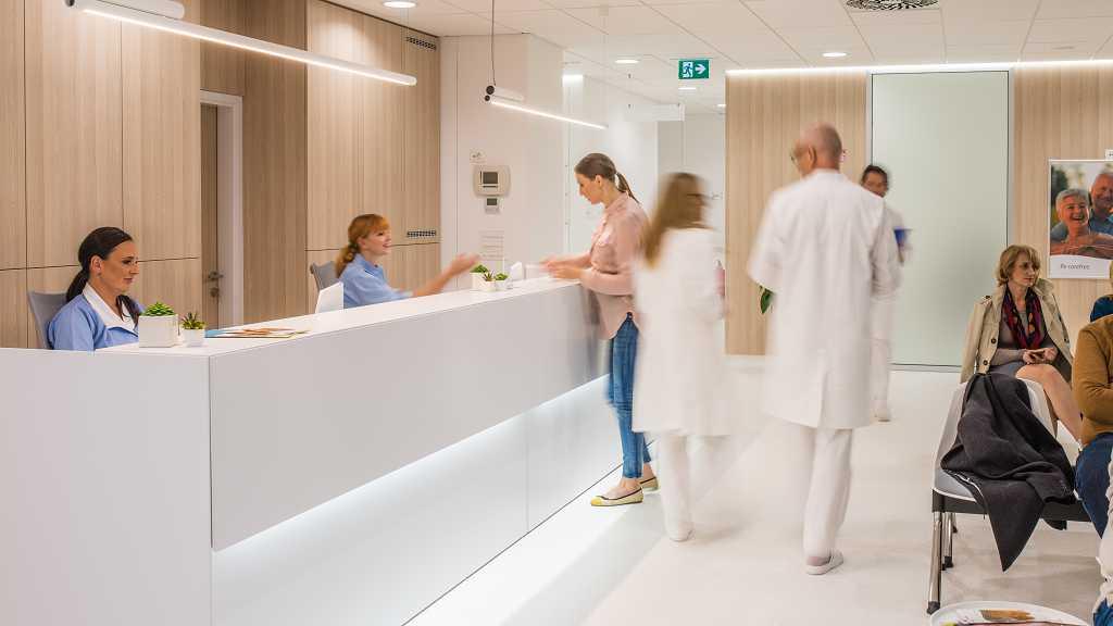 Praxisteam der Arztpraxis Freitag in Weilburg